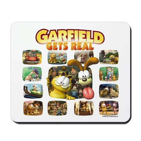 Garfield Gets Real Mousepad