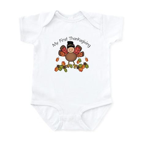 My First Thanksgiving TURKEY Infant Bodysuit