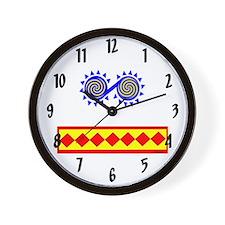 CHICKASAW INDIAN Wall Clock