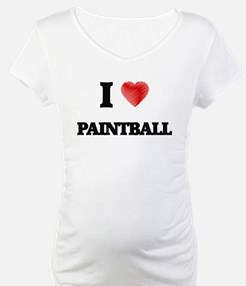 I Love Paintball Shirt