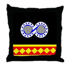 CHICKASAW INDIAN Throw Pillow