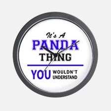 It's PANDA thing, you wouldn't understa Wall Clock