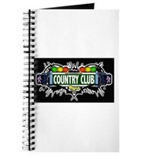 Country Club (Black) Journal