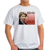Anti hillary clinton Mens Light T-shirts