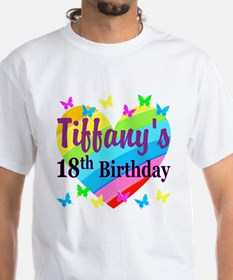 PERSONALIZED 18TH Shirt