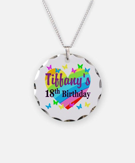 PERSONALIZED 18TH Necklace