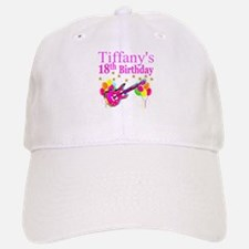 PERSONALIZED 18TH Baseball Baseball Cap