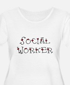 Social Worker Hearts T-Shirt