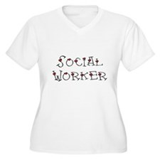 Social Worker Hearts T-Shirt