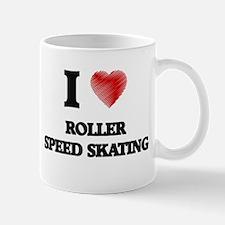 I Love Roller Speed Skating Mugs