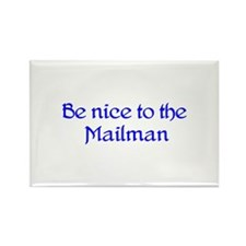 Mailman Rectangle Magnet (10 pack)