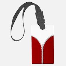 Unique Zipper opened Luggage Tag