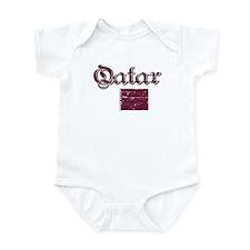 Qatari flag Infant Bodysuit