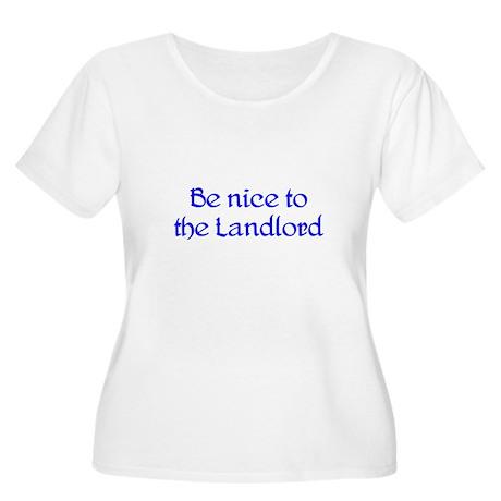 Landlord Women's Plus Size Scoop Neck T-Shirt
