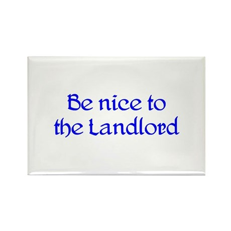 Landlord Rectangle Magnet (100 pack)