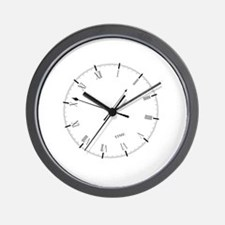 Unique Timing Wall Clock