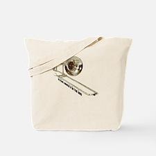 Cute Trombones Tote Bag