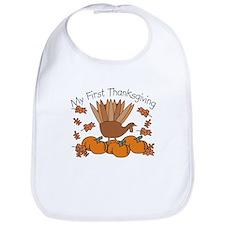 First Thanksgiving Turkey Bib