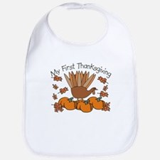 First Thanksgiving Turkey Bib