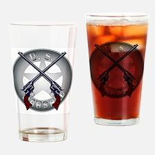 Unique Wyatt earp Drinking Glass