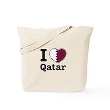I love Qatar Tote Bag