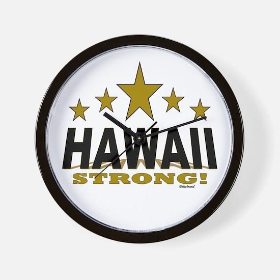 Hawaii Strong! Wall Clock