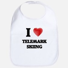 I Love Telemark Skiing Bib