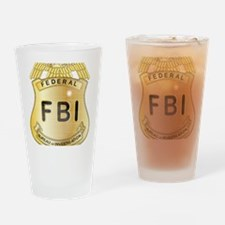 Cool Fbi badges Drinking Glass
