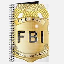 Cute Fbi badges Journal