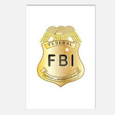 Cute Fbi Postcards (Package of 8)