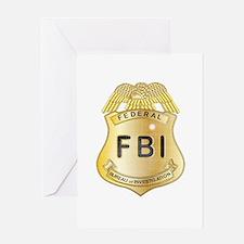 Cute Fbi Greeting Card