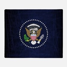 Cute President Throw Blanket