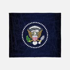 Cute Presidential seal Throw Blanket