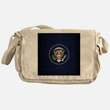 Cute President Messenger Bag