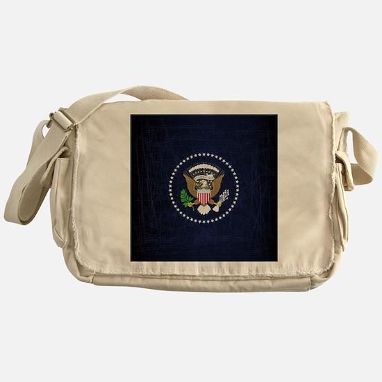 Cute President Messenger Bag