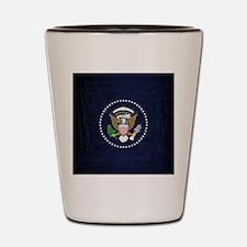 Unique President Shot Glass