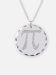 Unique Pi symbol Necklace
