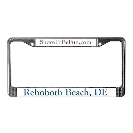 Rehoboth Beach DE License Plate Frame