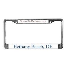 Bethany Beach DE License Plate Frame