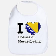 I love Bosnia and Herzegovina Bib