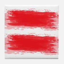 Latvia Flag Riga Latvijas Tile Coaster