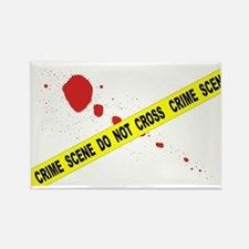 Cute Blood splatter Rectangle Magnet
