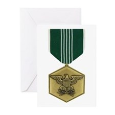 Commendation Medal Greeting Cards (Pk of 10)