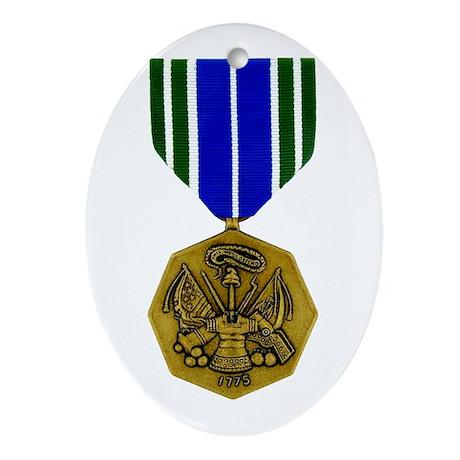 Army Achievement Oval Ornament