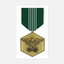 Commendation Medal Rectangle Decal