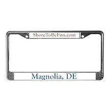 Magnolia DE License Plate Frame