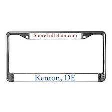 Kenton DE License Plate Frame