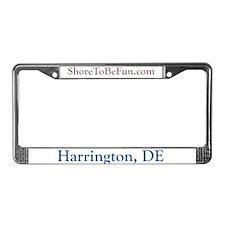 Harrington DE License Plate Frame