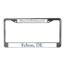 Felton DE License Plate Frame