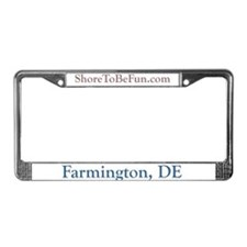 Farmington DE License Plate Frame